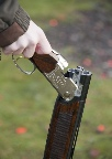 Clay pigeon shooting gun